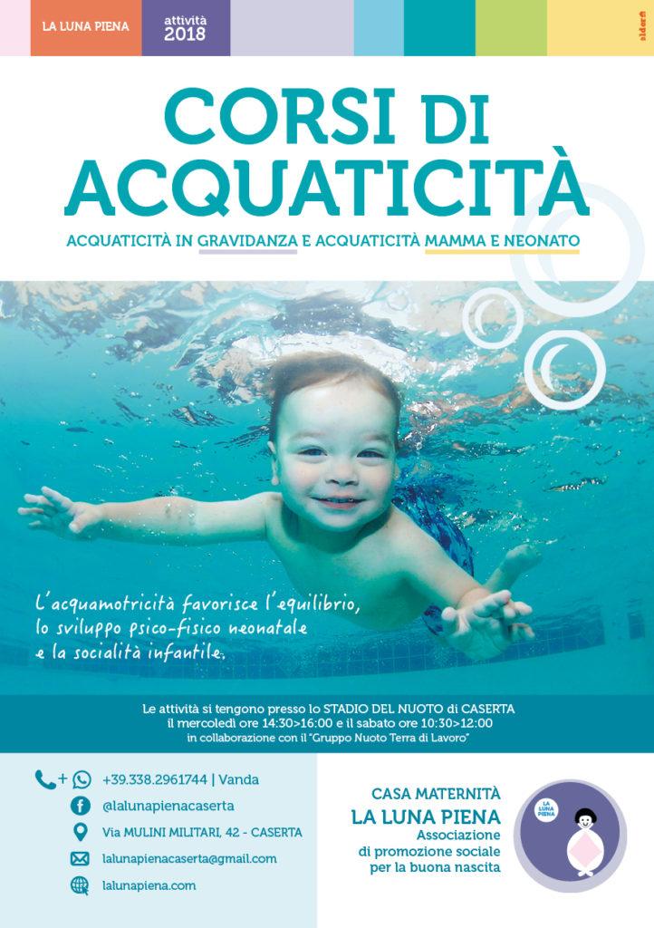 Flyer acquaticità